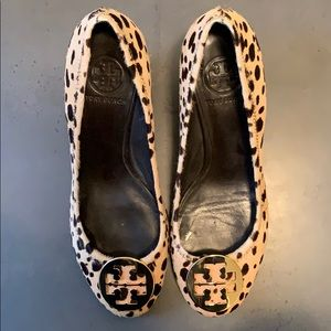 Tory Burch Sophie Size 8 - Leopard!